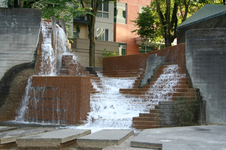 Urban Waterfalls in Portland